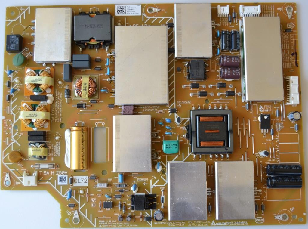 PB/APDP-225A1/SONY/65XE8505 POWER BOARD ,APDP-225A1 A,147468511,for SONY KD-65XE8505