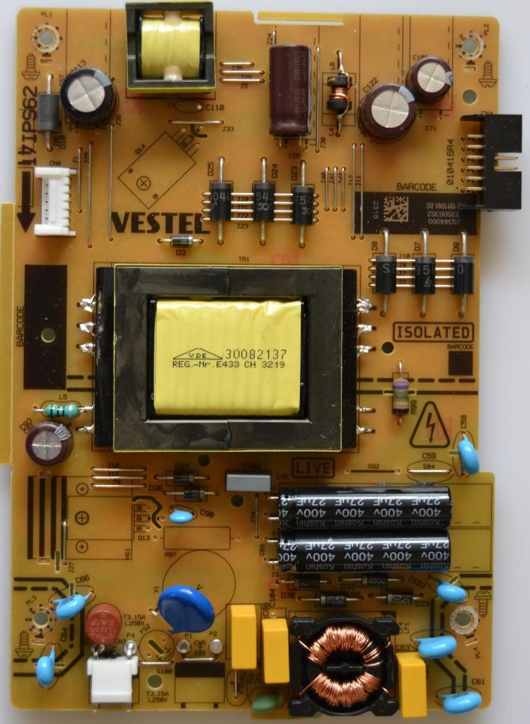 17IPS62/32INC/JVC/18 POWER BOARD ,17IPS62, for 32 inc DISPLAY ,28344060,23506362,010416R4,