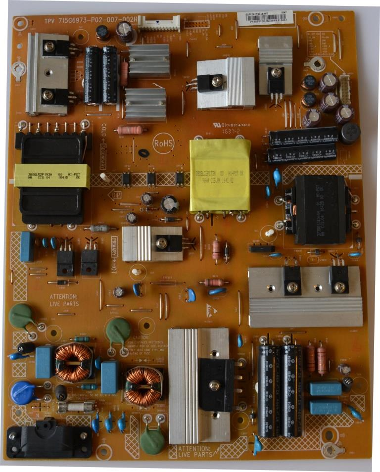 PB/49INC/PH/49PUS6561 POWER BOARD ,715G6973-P02-007-002H,for PHILIPS 49PUS6561/12