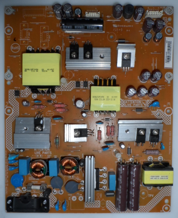 PB/43INC/PH/43PUS7150 POWER BOARD ,715G6679-P02-002-002H, for, PHILIPS 43PUS7150/12,