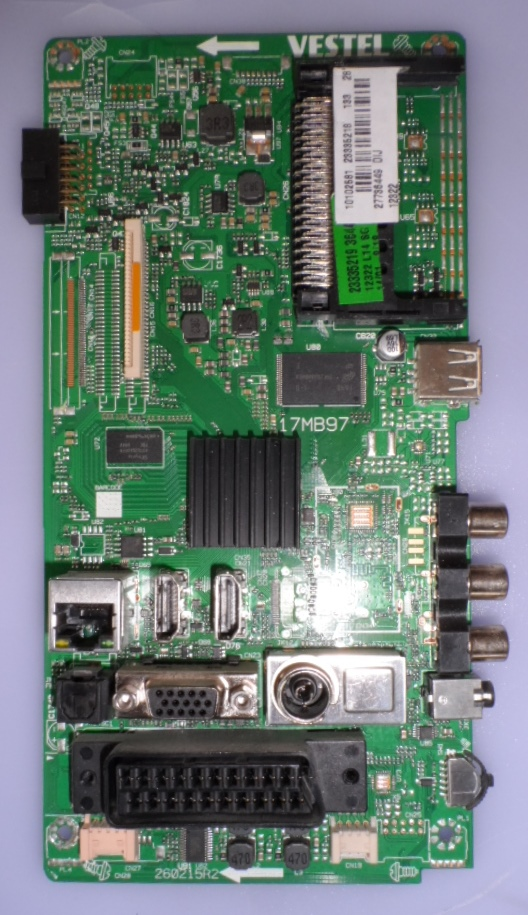 17MB97/28INC/FIN/28FLYR274 MAIN BOARD ,17MB97, for 28 inc DISPLAY ,10102581,23335218,27736449,