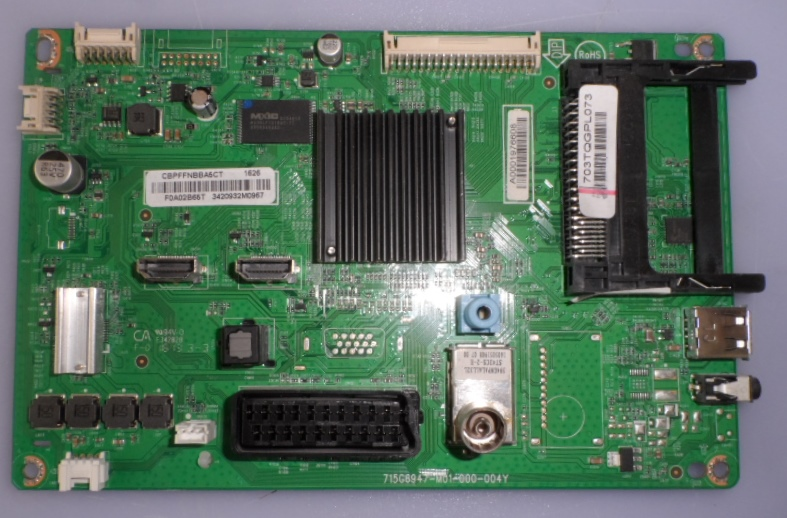 MB/40INC/PH/40PFT4201 MAIN BOARD ,715G6947-M01-000-004Y, for PHILIPS 40PFT4201/12,40PFT4101/12