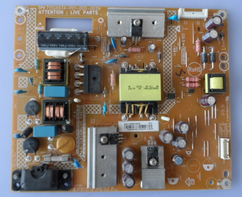 PB/40INC/PH/40PFT4201 POWER BOARD, 715G6934-P01-000-002H, for, PHILIPS 40PFT4201/12,40PFT4101/12,