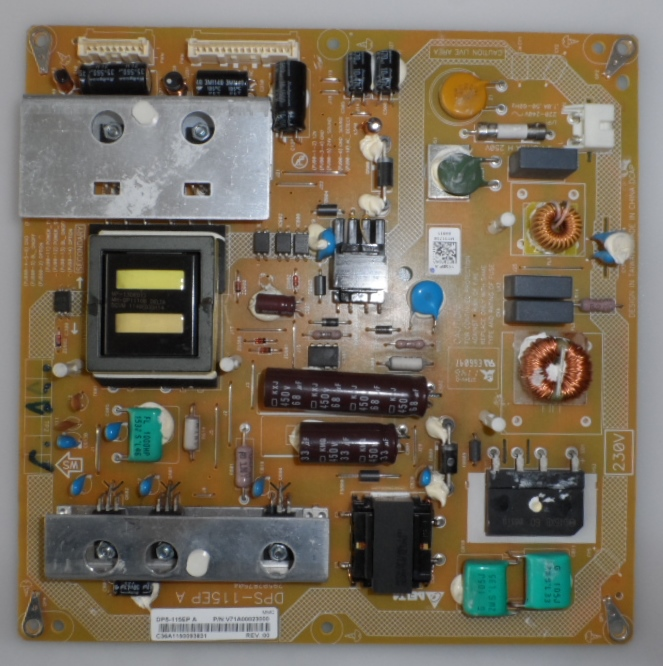 PB/TOSH/32TL933 POWER BOARD ,DPS-115EP,V71A00023000,