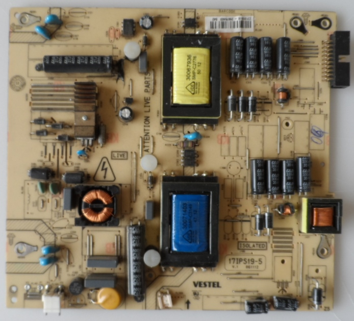 17IPS19-5/32INC/VES/20PIN POWER BOARD ,17IPS19-5,V.1 061112 for 32inc DISPLAY ,23101516,26975603,