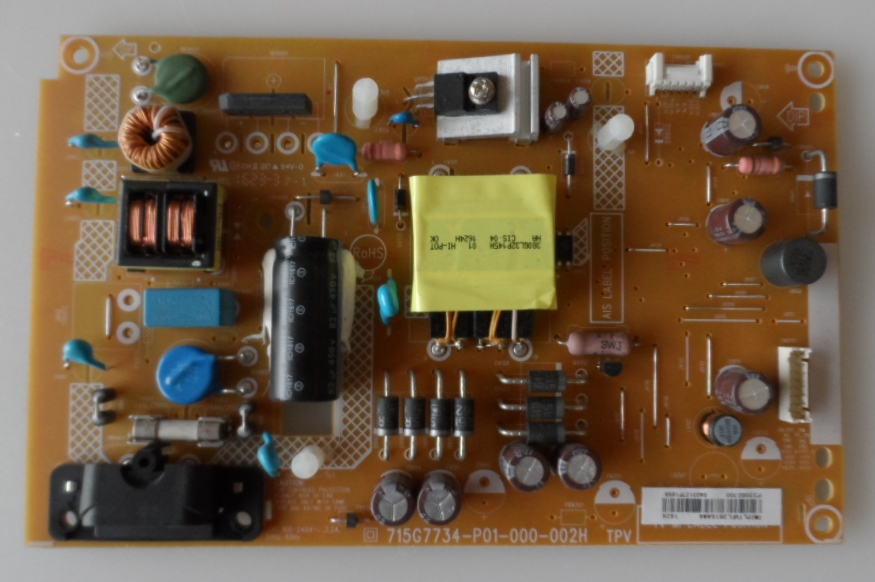 PB/32INC/PH/32PHT4101/12 POWER BOARD ,715G7734-P01-000-002H, for, PHILIPS 32PHT4101/12,